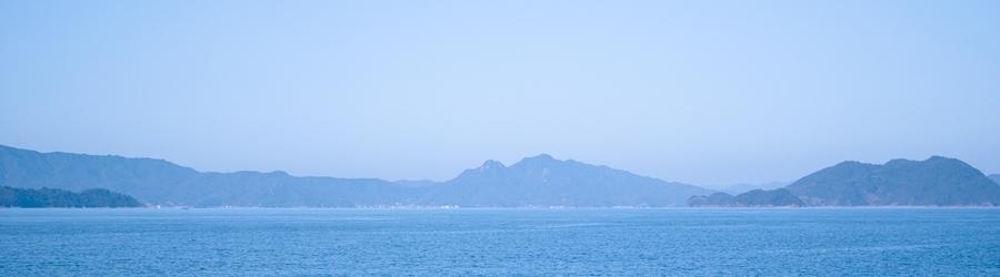 瀬戸内海の美しい景色をご堪能ください