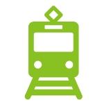津和地島に列車を使ってアクセスする
